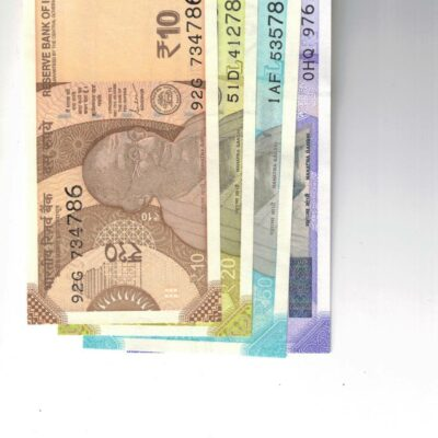 8 NOTES ENDING HOLY NO 786 GEM 10RS 20RS 50RS AND 100 RS OLD AND NEW SERIES