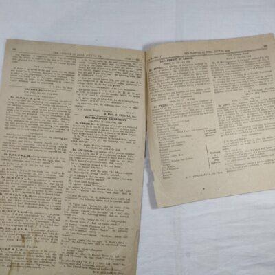 Gazette of India, New Delhi, 1944