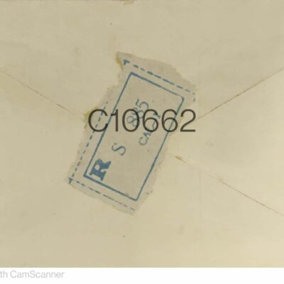 Commercially Used cover with Multiple Stamps Nepal C10662