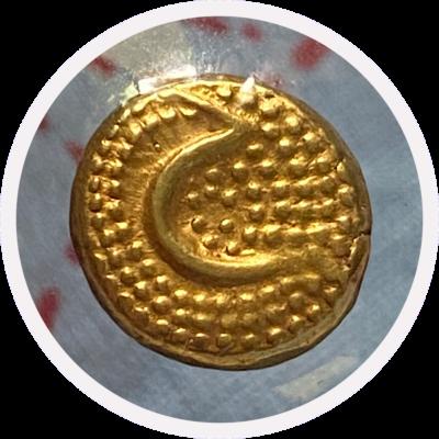 Mysore Sultan Hyder Ali Gold Pagoda, 3.4 Grams