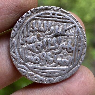 Ala al Din Muhammad Khilji, Silver Tanka, Hadrat Delhi mint