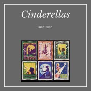 Cinderella stamps