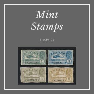Mint stamps (MNH / MH)