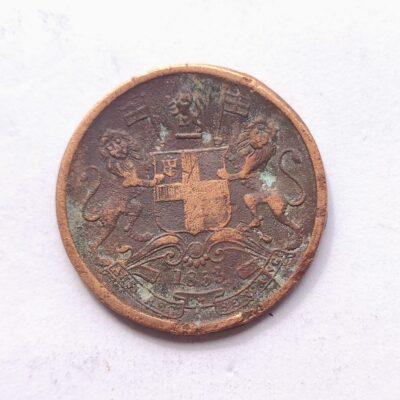 East India Company 1/2 Pice 1853