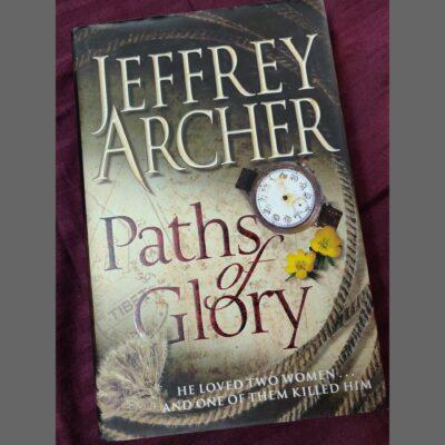 Autograph of Jeffrey Archer on his book