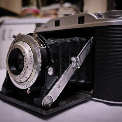 Rare Vintage Agfa Isolette III folding camera antique collectible