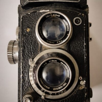 PHOTOFLEX old vintage Rare TLR 1990 Camera made in Japan